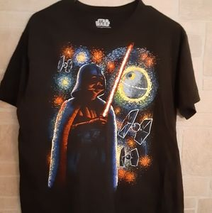 STAR WARS TEE LG LIKE NEW!!